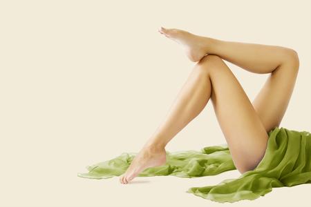 Foto de Woman Legs Beauty and Body Skin Care, Female Epilation and Hair Removal - Imagen libre de derechos