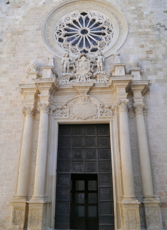 The cathedral of Otranto in apulia in the south of Italy