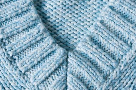 v-collar, knitting pattern