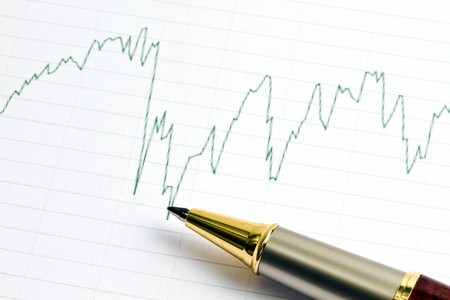 Analyzing the stock market with golden pen