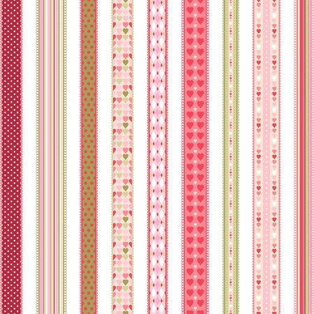 Ilustración de Set of hand drawn lace braid borders  - Imagen libre de derechos