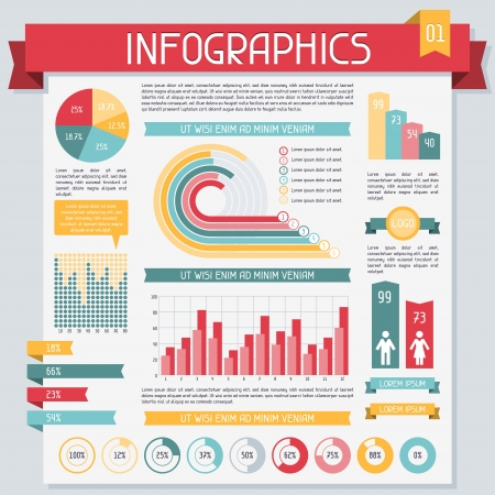 Infographics elements collection  Set 1