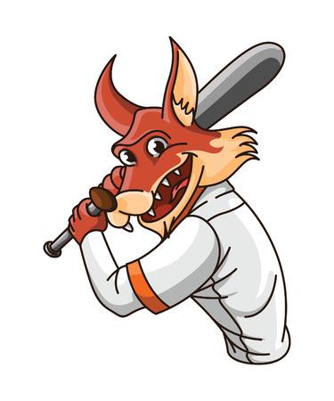 wolf base ball player