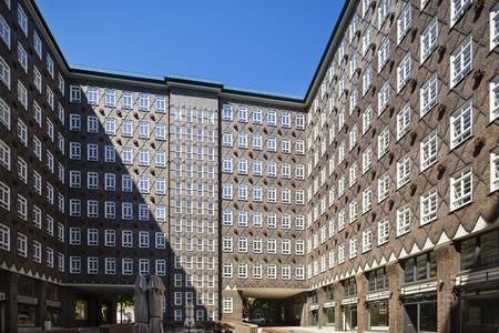 The Sprinkenhof building in Hamburg, Germany.