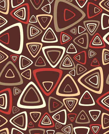 The sample of a background with triangles. Vector illustration