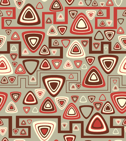 Background with triangles. Vector illustration