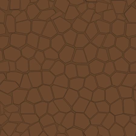 Stone blocks structure. Vector illustration