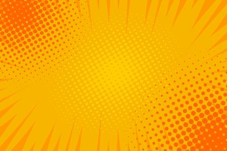 Ilustración de Comic book pop art strip radial backdrop - Imagen libre de derechos