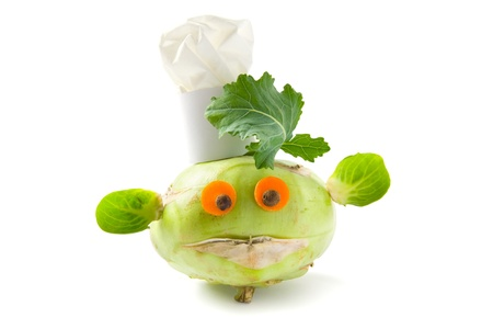 Vegetable creature