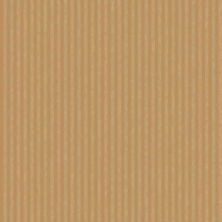 Illustration pour Kraft recycled corrugated paper texture vector. Seamless craft paper for packaging and handmade items. - image libre de droit