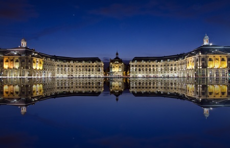 bordeaux, reflections at the stock place