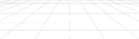 Illustration pour Vector perspective grid. Abstract background of multiple lines. - image libre de droit
