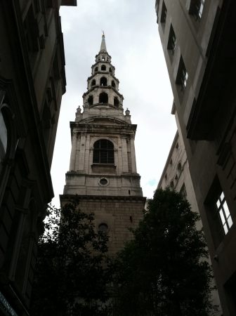 A cake tiered church in London