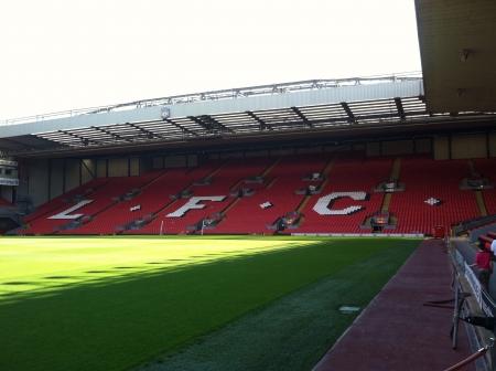 Arsenal stadium in Liverpool