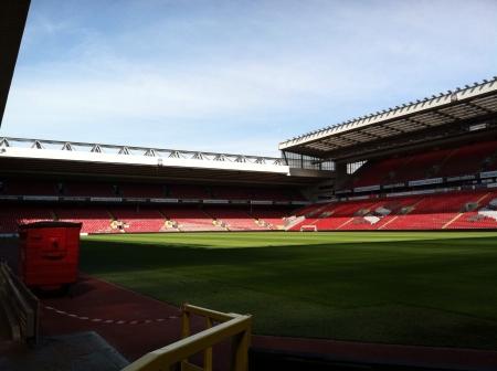 Arsenal futbol stadium in Liverpool