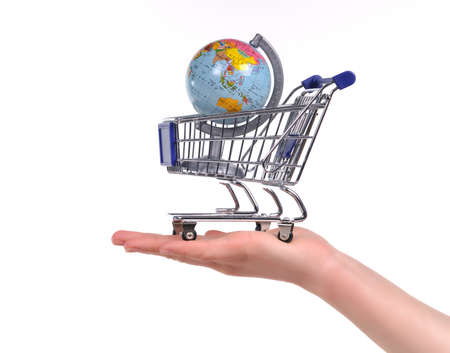 Shopping for Travels or Globalization Concept