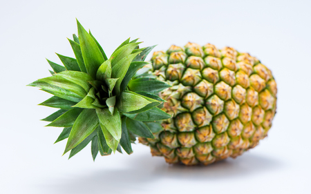 Photo for pineapple isolated on white background - Royalty Free Image