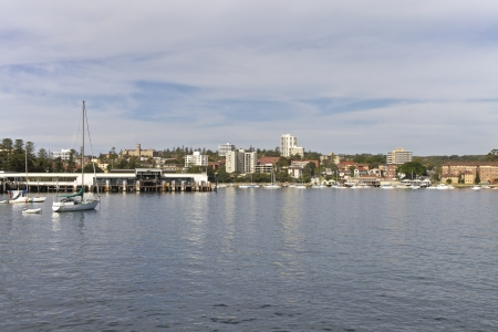 Manly beach ferry station in Sydney, Australia
