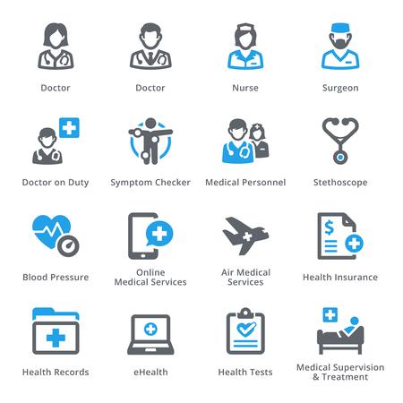 Vektor für Medical & Health Care Icons Set 2 - Services | Sympa Series - Lizenzfreies Bild