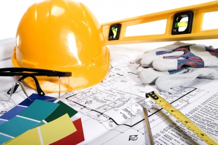 Photo for Stock image of home improvement, construction or remodeling concept - Royalty Free Image