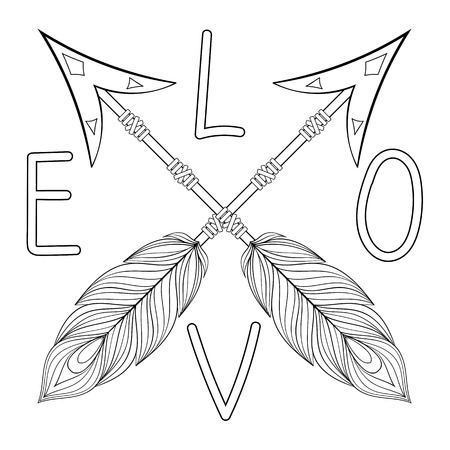 Get the coloring page: Feather | 50 Printable Adult Coloring Pages ... | 450x450