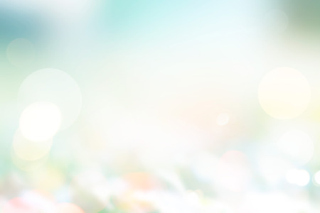 Abstract pastel style, blurred grass on ground in the nature, Summer and spring light sunshine concept, Soft focus and blur