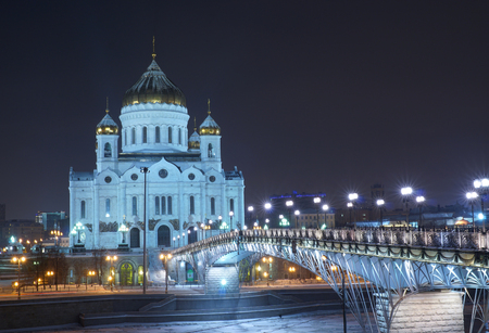Cathedral of the Russian Orthodox Church. The existing structure was implemented in 1990-ies the external reconstruction of the Church of the same name, created in the XIX century.