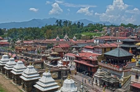 Foto de Pashupatinath Kathmandu Nepal Temple - Imagen libre de derechos