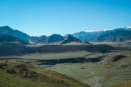Photo for Mountain landscapes of the Chui tract, Altai. Valley Chuya. - Royalty Free Image