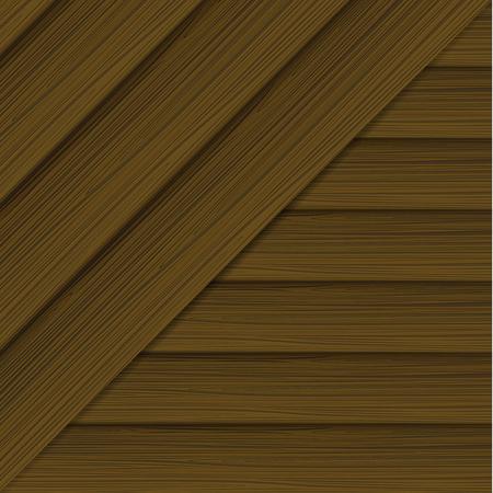 Illustration pour Horizontal and diagonal wood texture. Vector illustration - image libre de droit