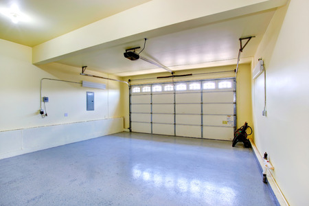 Photo for Empty garage interior in new house - Royalty Free Image