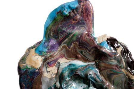 Photo for Plasticine set isolated on white. - Royalty Free Image