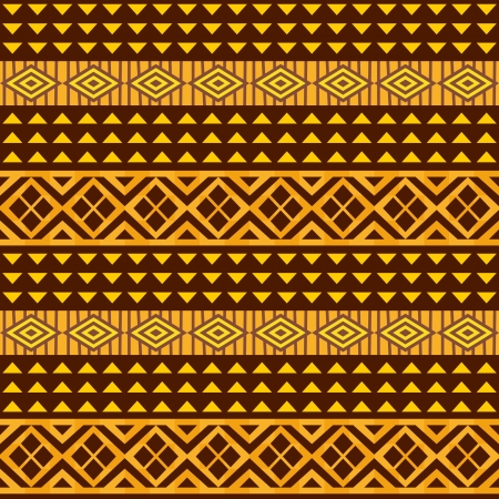 African geometric ornament, seamless background