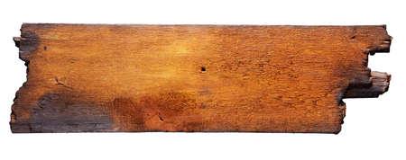 Foto de charred wood board isolated on white - Imagen libre de derechos