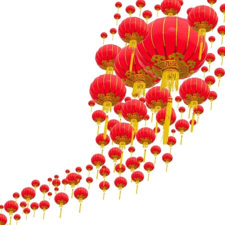 Photo pour Chinese Lantern - image libre de droit