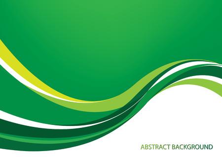 Illustration pour Green abstract background - image libre de droit