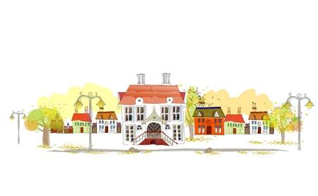 Illustration pour autumn - image libre de droit