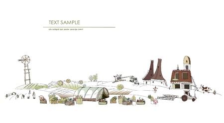 farm stories illustration