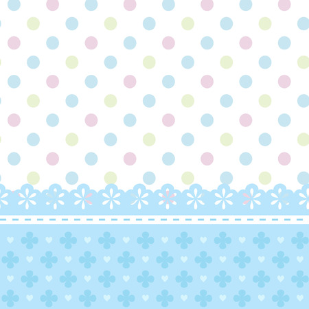 Baby shower or greeting card for a boy