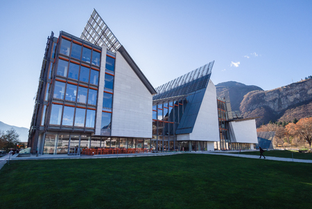 The MUSE is the Museum of Science in Trento designed by Italian architect Renzo Piano.