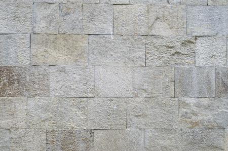 Photo pour New polished sliced stone cladding on wall closeup  - image libre de droit