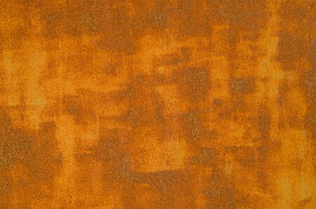 Photo pour Old rusty metal door close up - image libre de droit