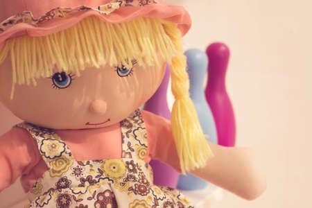 doll portrait detail