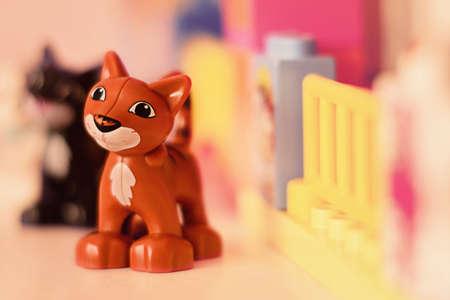 cat toy figurine