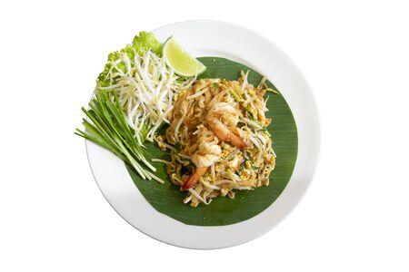 Photo pour Fried noodle thai style (pad thai) Delicious - image libre de droit