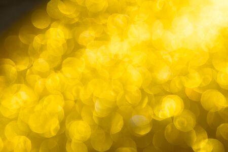 Photo pour Abstract Christmas background wallpaper diamond and effect lighting for design. Golden bokeh glitter lights - image libre de droit