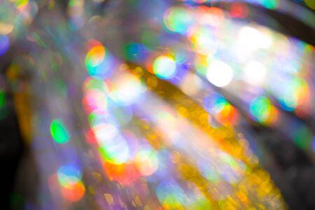 Photo pour Multicolored rainbow large bokeh effect background - image - image libre de droit