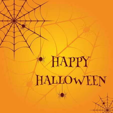 Illustration pour Happy Halloween Vector illustration template - image libre de droit