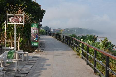 Waterfront walkway at Chiang Kan