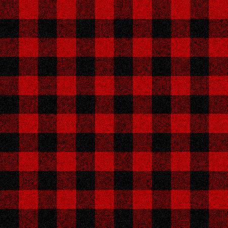 Lumberjack plaid seamless pattern for your design